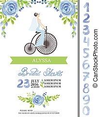 Wedding bridal shower card - Wedding bridal shower...