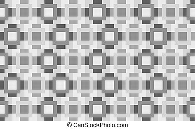 Gray background - Vector background with a pattern of...