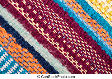 Knitted Pattern Crafting Texture background - Knitted...
