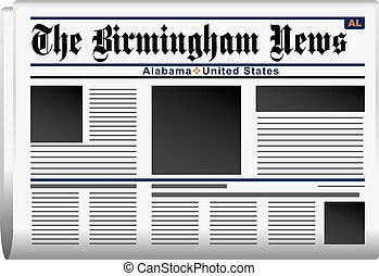 Newspaper Birmingham News Alabama - Newspaper News of...