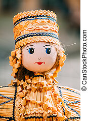 Belarusian Straw Dolls Are Most Popular Souvenirs From...