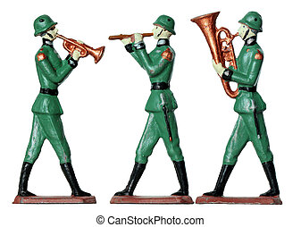 Toy Military Band