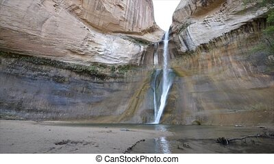 Calf Creek Falls, Calf Creek Canyon, Grand Staircase-Escalante National Monument, Utah, USA, America