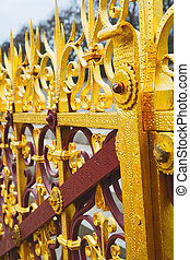 abstract gold in englan london