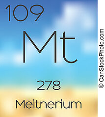 Periodic Table of the Elements Meitnerium - The Periodic...