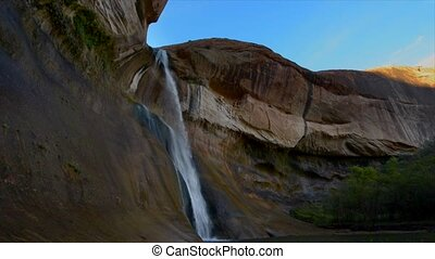 Calf Creek Falls, Calf Creek Canyon, Grand...