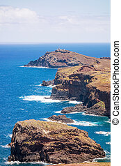 the most easterly point on Madeira - Island Ilheu da Cevada...