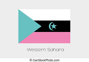 Inverted Flag of Western Sahara - An Inverted Flag of...