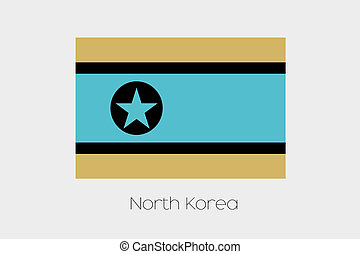 Inverted Flag of North Korea - An Inverted Flag of North...