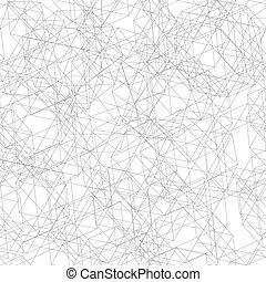 Seamless pattern from fine lines decagon - Vector...