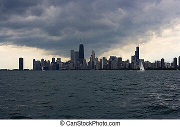 Storm over Chicago