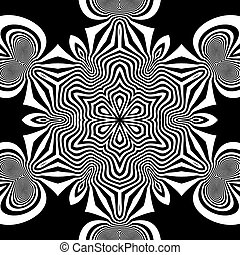 Black and White Background. Abstract