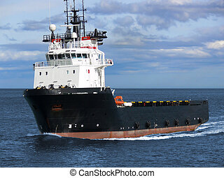 Supply Vessel A1 - Offshore oil and gas platform supply...