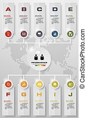 10 step order template. - Infographic design template and...