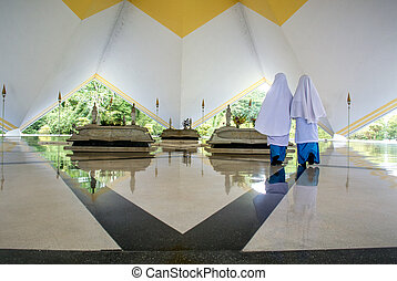 National Mosque - Masjid Negara Mosque on 28 October,2015 in...