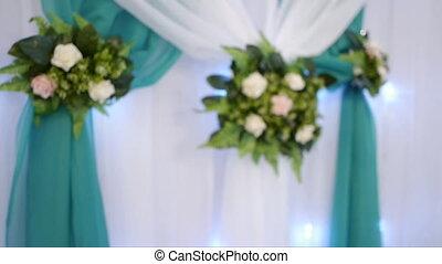 Tender bridal bouquet top view Brides bouquet