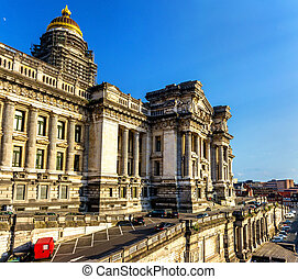 Law Courts (Palace of Justice) in Brussels - Belgium