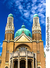 Basilica of the Sacred Heart - Brussels, Belgium