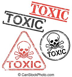 Toxic Rubber Stamps