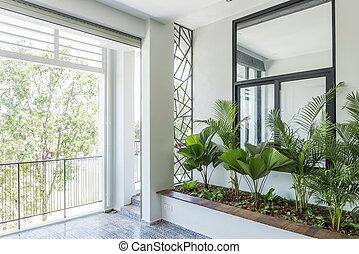 modern contemporary interior design balcony garden