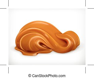 Caramel vector illustration - Caramel, illustration,...