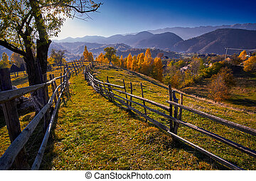 Countryside Autumn Landscape - Autumn in the countryside...