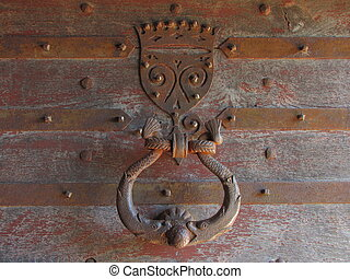 Handle door - Valley of Dordogne ; Lot, Perigord, Quercy,...
