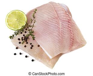 Raw Fish Fillets