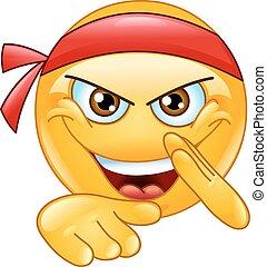 Martial art emoticon