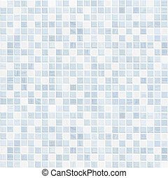 ceramic tile wall or floor bathroom background - blue tile...