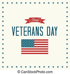 Happy Veterans Day - Veterans Day Vector Illustration...