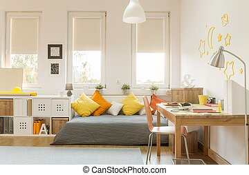 Cozy teen room