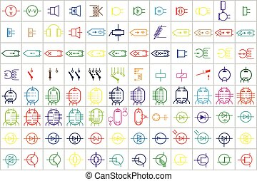96 Electronic and Electric Symbol 2 - 96 Electronic and...