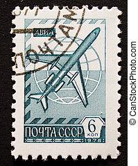 Vintage soviet postage stamp of 1976 - Vintage soviet...