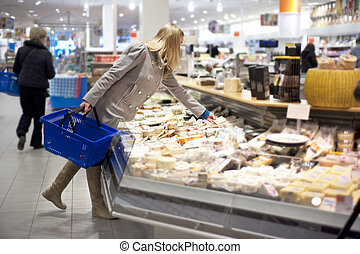 Groceries shopping