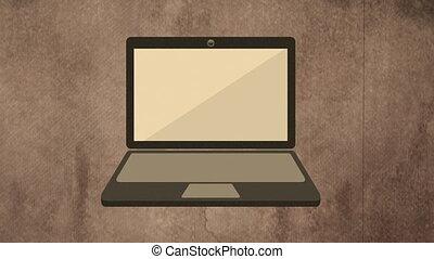 Computer icon design, Video animation, HD 1080
