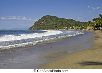 Pacific Ocean beach in Mexico - Pacific Ocean beach in Lo de...