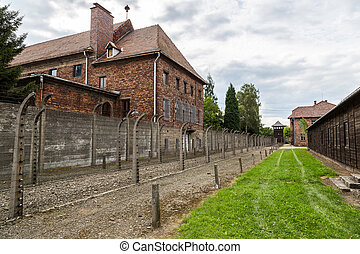 Concentration camp Auschwitz - German concentration camp...