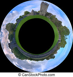 Aughnanure Planet - Aughnanure castle field, Co. Galway,...