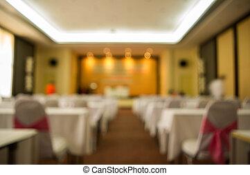 Blur meeting room - Blur background : Meeting room in...