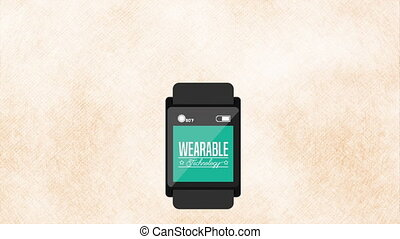 wearable technology design, Video Animation HD 1080