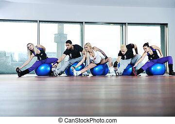 condicão física, Grupo
