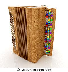 Musical instrument - retro bayan
