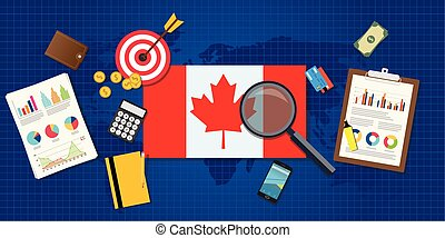 canada economy economic rising with good chart and graph and...