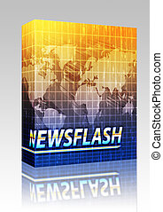 News splash screen box package - Software package box Latest...