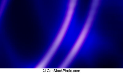 Soft Flowing Blue Abstract Loop - Looping Animated...
