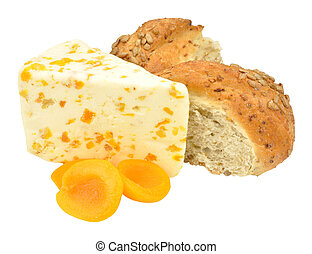 Apricot Flavoured White Stilton Che - Apricot flavoured...