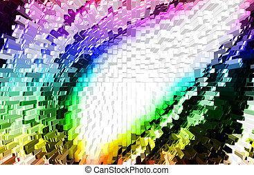 Multicolor back ground - abstract multicolor background with...