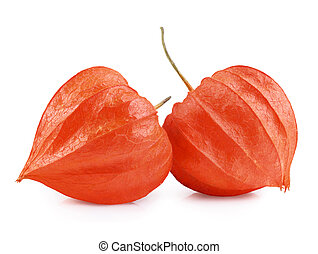Physalis - Close up of cape Gooseberry or Physalis fruit on...
