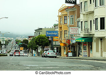 San Francisco, CA, USA - September 13, 2011: view of the...